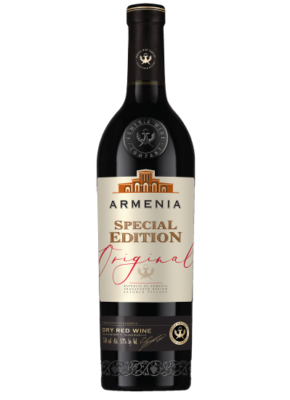 ARMENIA ORIGINAL SPECIAL EDITION DRY RED 0,75L