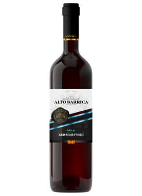 ALTO BARRICA SEMI SWEET RED 0,75L
