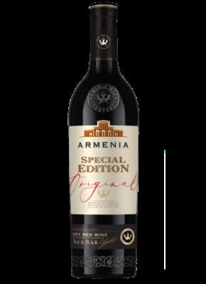 ARMENIA ORIGINAL SPECIAL EDITION DRY RED 0,75L