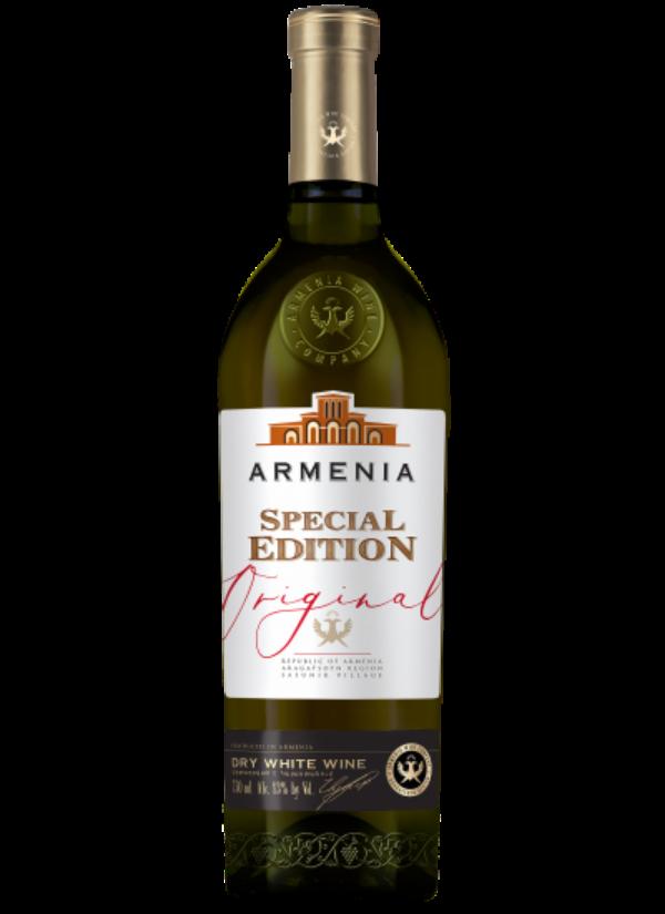 ARMENIA ORIGINAL SPECIAL EDITION DRY WHITE 0,75L