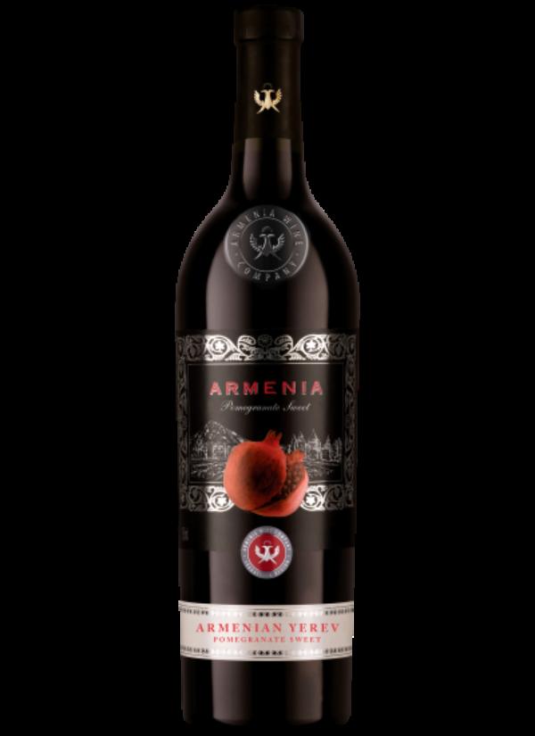 ARMENIA YEREV POMEGRANATE SWEET RED 0,75L
