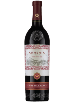 ARMENIA YEREV SEMI DRY RED 0,75L