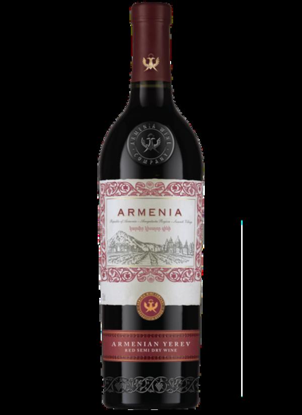 ARMENIA YEREV SEMI DRY RED 0,75L