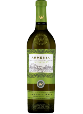 ARMENIA YEREV SEMI DRY WHITE 0,75L