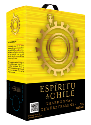 BAG-IN-BOX ESPIRITU DE CHILE GEWURZTRAMINER & SEMILLON 3L