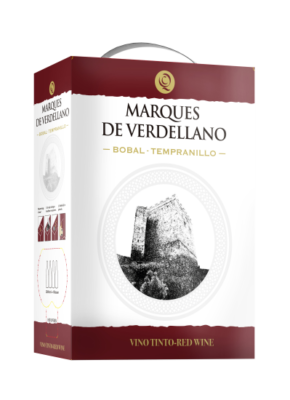 BAG-IN-BOX MARQUES DE VERDELLANO BOBAL & TEMPRANILLO 5L