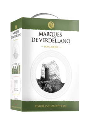 BAG-IN-BOX MARQUES DE VERDELLANO MACABEO 5L