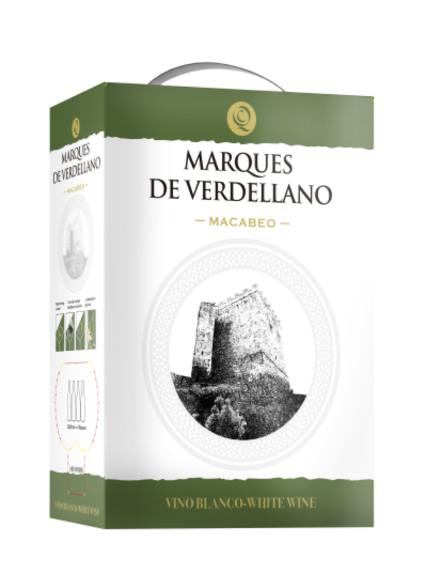 BAG-IN-BOX MARQUES DE VERDELLANO MACABEO 5L
