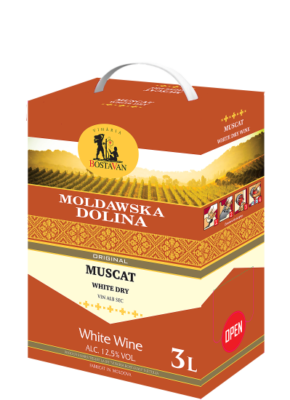 BAG-IN-BOX MOLDAWSKA DOLINA MUSCAT 3L