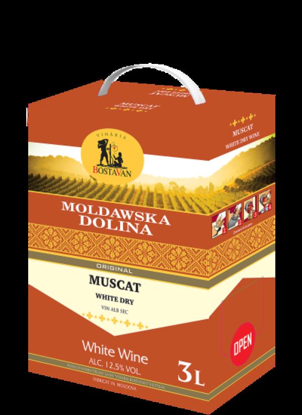 BAG-IN-BOX MOLDAWSKA DOLINA MUSCAT 3L