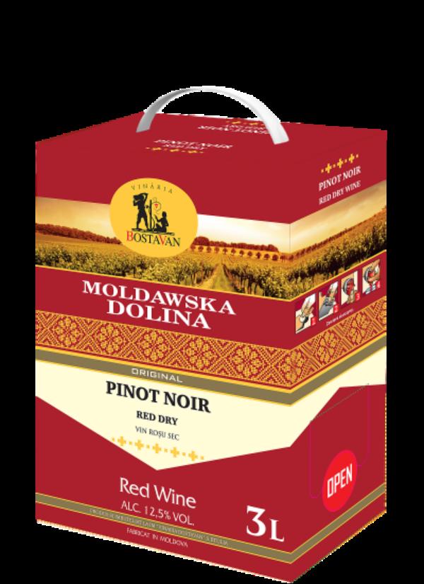 BAG-IN-BOX MOLDAWSKA DOLINA PINOT NOIR 3L