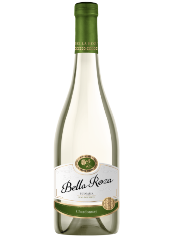 BELLA ROZA SEMI DRY CHARDONNAY 0,75L