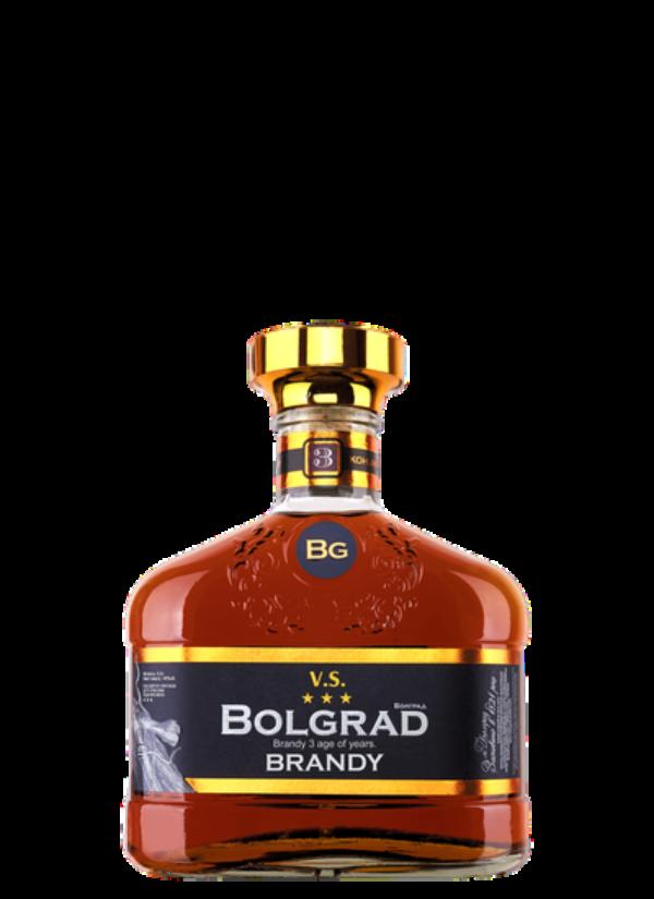 BOLGRAD 3-YO VS BRANDY 0,5L