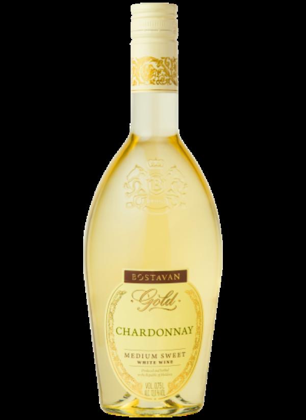 BOSTAVAN GOLD SEMI SWEET CHARDONNAY 0,75L