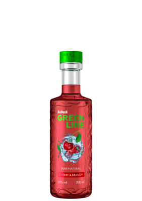 BULBASH GREENLINE CHERRY & BRANDY 0,2L