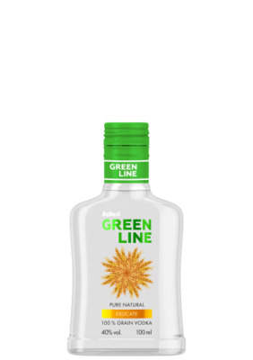 BULBASH GREENLINE DELICATE VODKA 0,1L