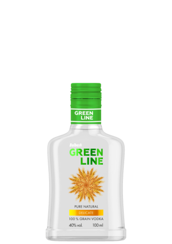 BULBASH GREENLINE DELICATE VODKA 0,1L