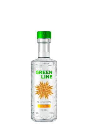 BULBASH GREENLINE DELICATE VODKA 0,2L