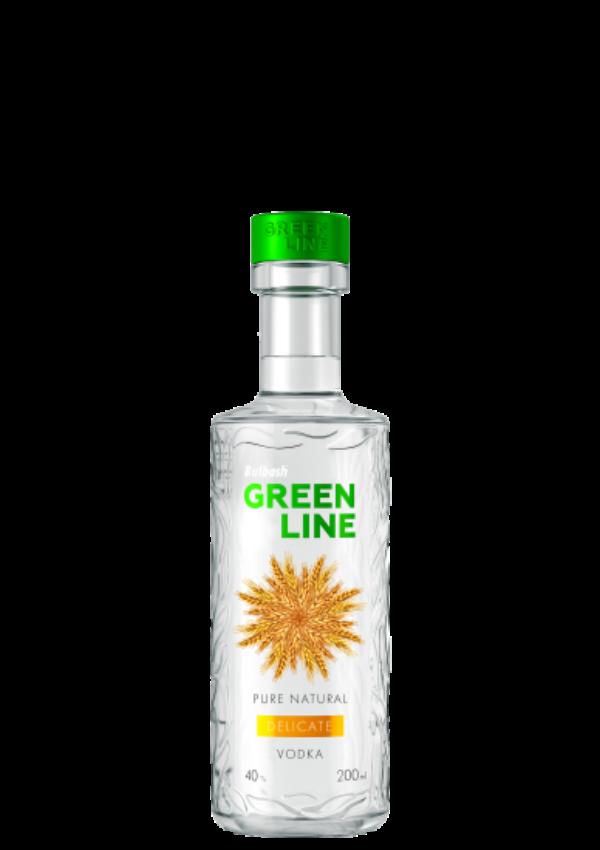 BULBASH GREENLINE DELICATE VODKA 0,2L