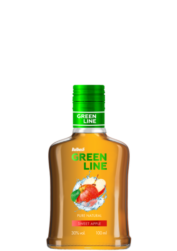 BULBASH GREENLINE SWEET APPLE 0,1L