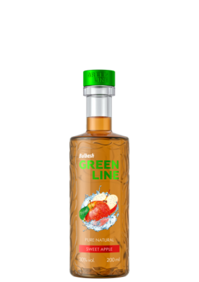 BULBASH GREENLINE SWEET APPLE 0,2L