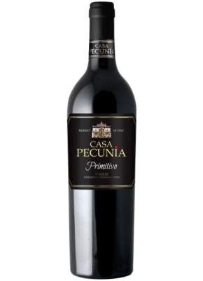 CASA PECUNIA PRIMITIVO IGT 0,75L