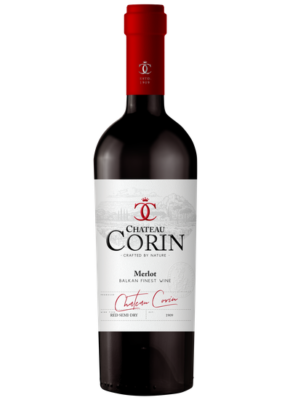 CHATEAU CORIN SEMI DRY MERLOT 0,75L