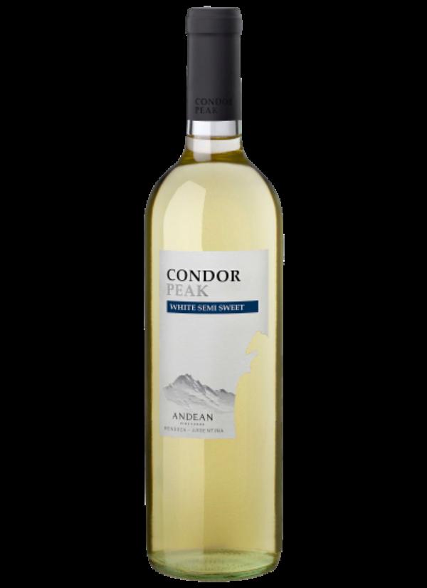 CONDOR PEAK SEMI SWEET WHITE 0,75L