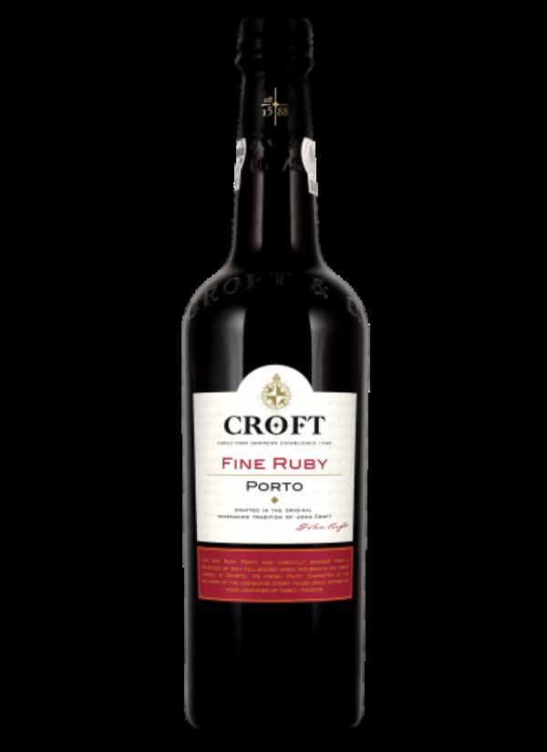 CROFT FINE RUBY PORT 0,75L