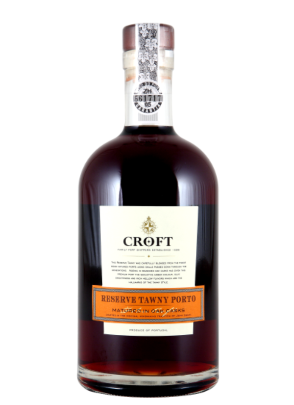 CROFT RESERVE TAWNY PORT 0,75L