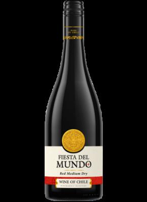 FIESTA DEL MUNDO SEMI DRY RED 0,75L