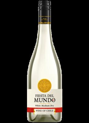 FIESTA DEL MUNDO SEMI DRY WHITE 0,75L