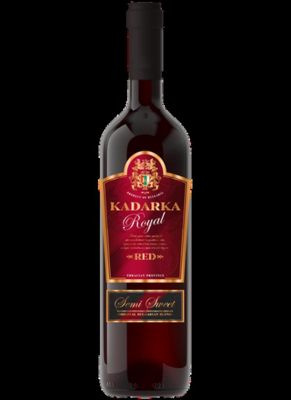 KADARKA ROYAL SEMI SWEET 0,75L
