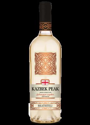 KAZBEK PEAK SEMI DRY WHITE RKATSITELI 0,75L