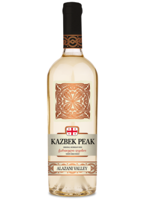 KAZBEK PEAK SEMI SWEET WHITE ALAZANI VALLEY 0,75L