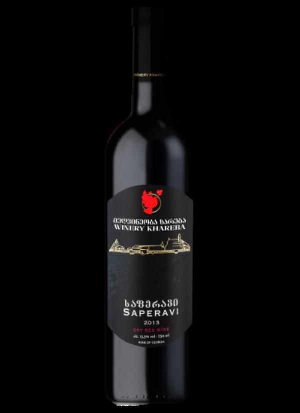 KHAREBA RED SAPERAVI 0,75L
