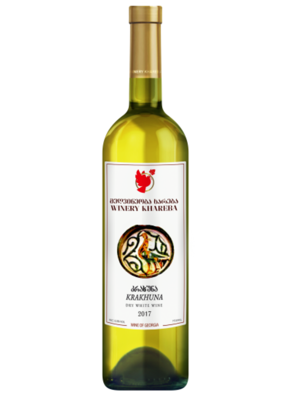 KHAREBA WHITE KRAKHUNA 0,75L