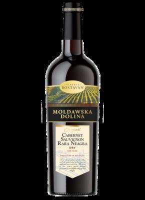 MOLDAWSKA DOLINA DRY CABERNET SAUVIGNON & RARA NEAGRA 0,75L