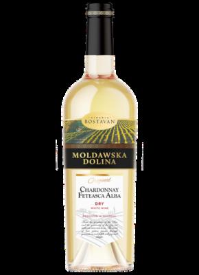 MOLDAWSKA DOLINA DRY CHARDONNAY & FETEASCA ALBA 0,75L