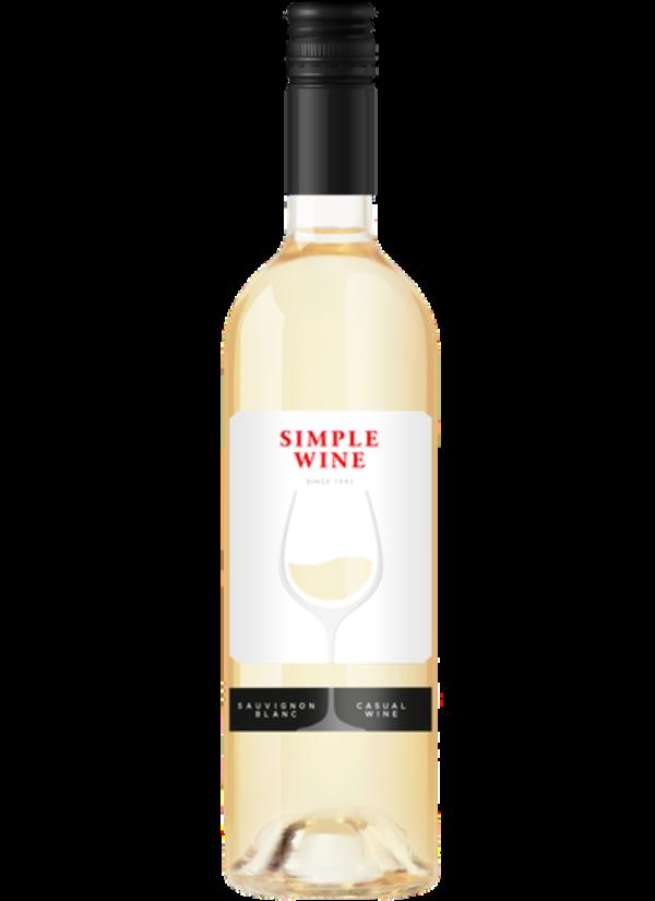 SIMPLE WINE SAUVIGNON BLANC 0,75L