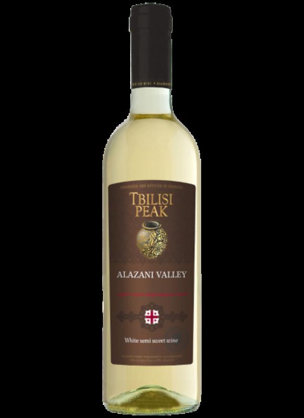 TBILISI PEAK SEMI SWEET WHITE ALAZANI VALLEY 0,75L