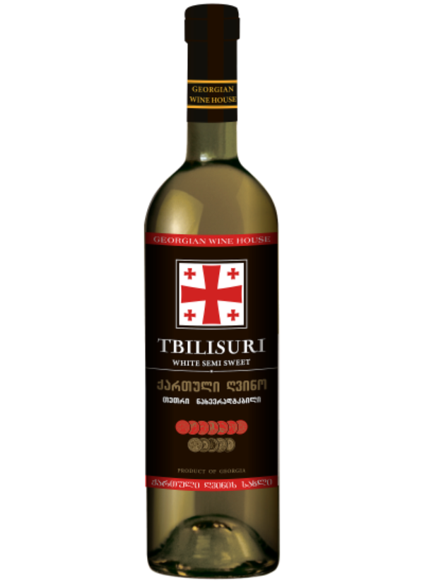 TBILISURI SEMI SWEET WHITE 0,75L