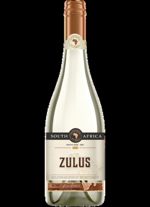 ZULUS SEMI DRY WHITE 0,75L